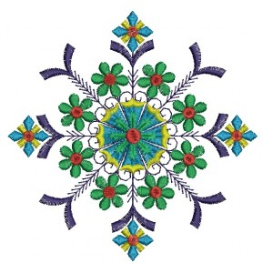 Nice Flora Embroidery Designs