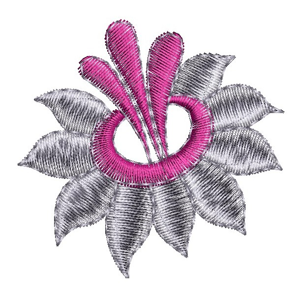 Single flower embroidery designs embroideryshristi