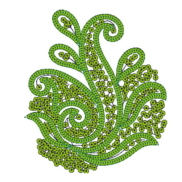 Sequein applique embroidery designs embroideryshristi
