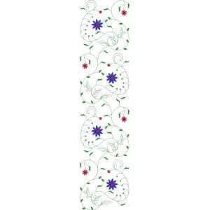 Allover Jaal Embroidery Design 3