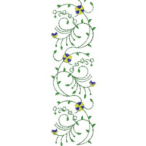 Allover Jaal Embroidery Design 6