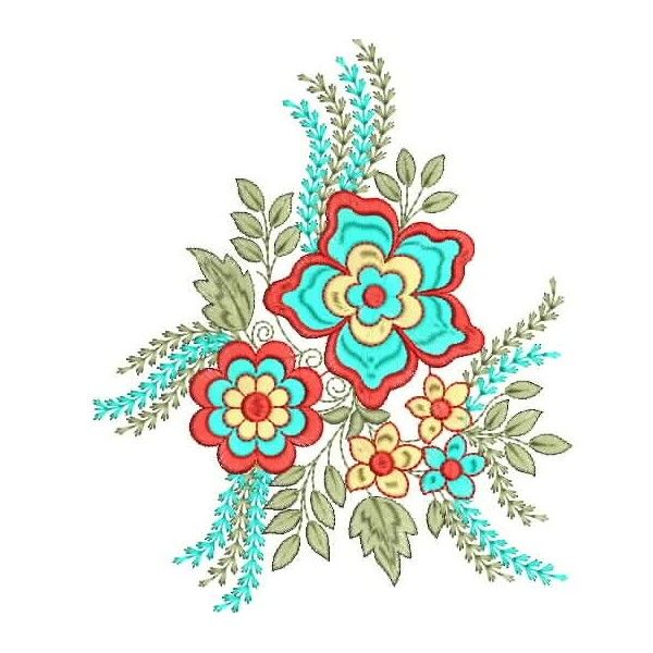 New Creative Flower Embroidery Designs 2