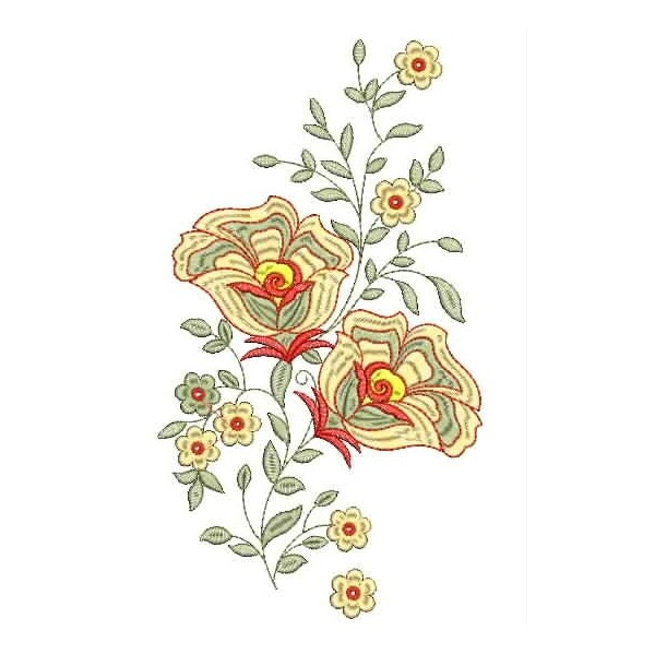 Small Floral Embroidery Designs Ausbeta