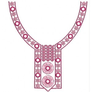 New Neckline Embroidery Designs