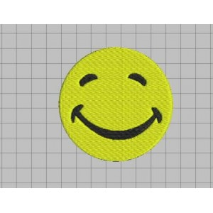 Smiling Face Embroidery Designs