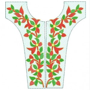 neckline Designs for Dress Embroidery 4