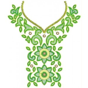 neckline Designs for Dress Embroidery 6