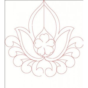 redwork embroideryshristi clipart 33