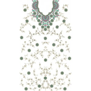 Full beautiful Dress Sequin Embroidery Designs43