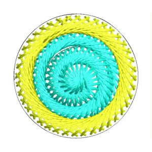 Circle embroidery designs 10