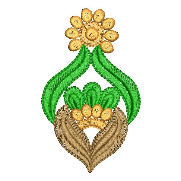 Floral butta embroidery designs embroideryshristi