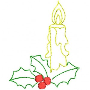 Christmas Candle Designs