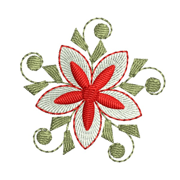 flower embroidery shristi star floral embroidery designs