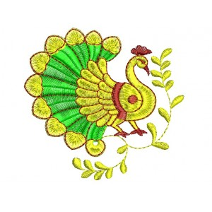 Indian Traditional Peacock Designs