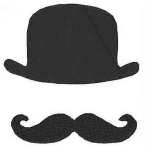 Moustache Hats Embroidery Designs