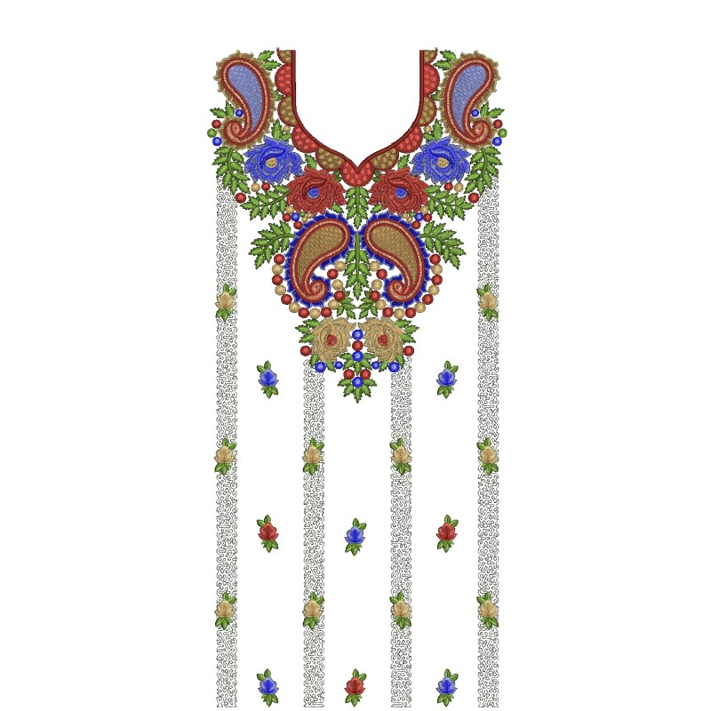 Embroidery Designs On Gowns | ausbeta.com