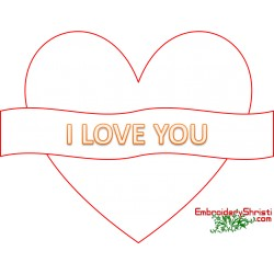 Love You Text Clipart 59