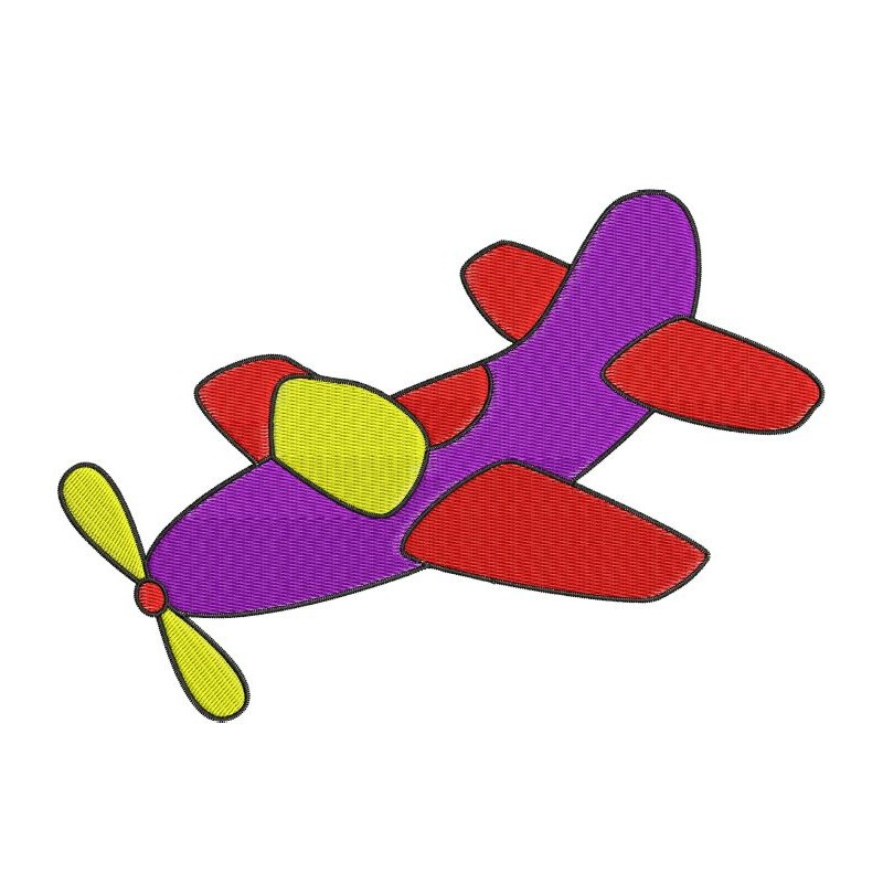 Kids Plane Toy Embroidery Designkids Embroidery Designsplane