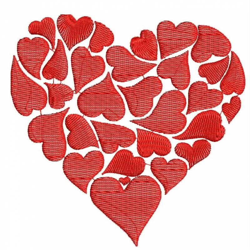 Valentine Special Embroidery Designs 2016love Embroideryheart