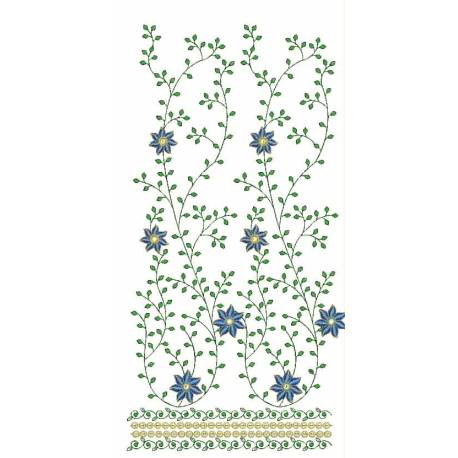 Floral Embroidery Design 2016