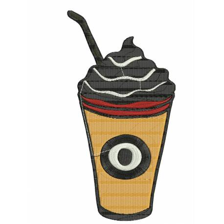 Cocktail Drink Embroidery Design 2