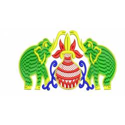 Indian Wedding Elephant Design