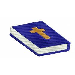 Holy Bible Book Embroidery Design
