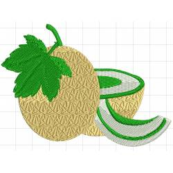 Honey melon Embroidery Design