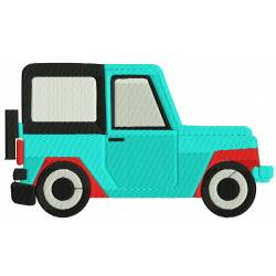 Jeep Vehicle Embroidery  Design