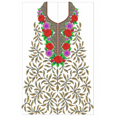 New Indian Embroidery Suit Designs