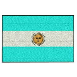 Argentina Flag Embroidery Design
