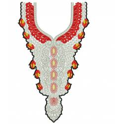 New Neckline Embroidery Design 18