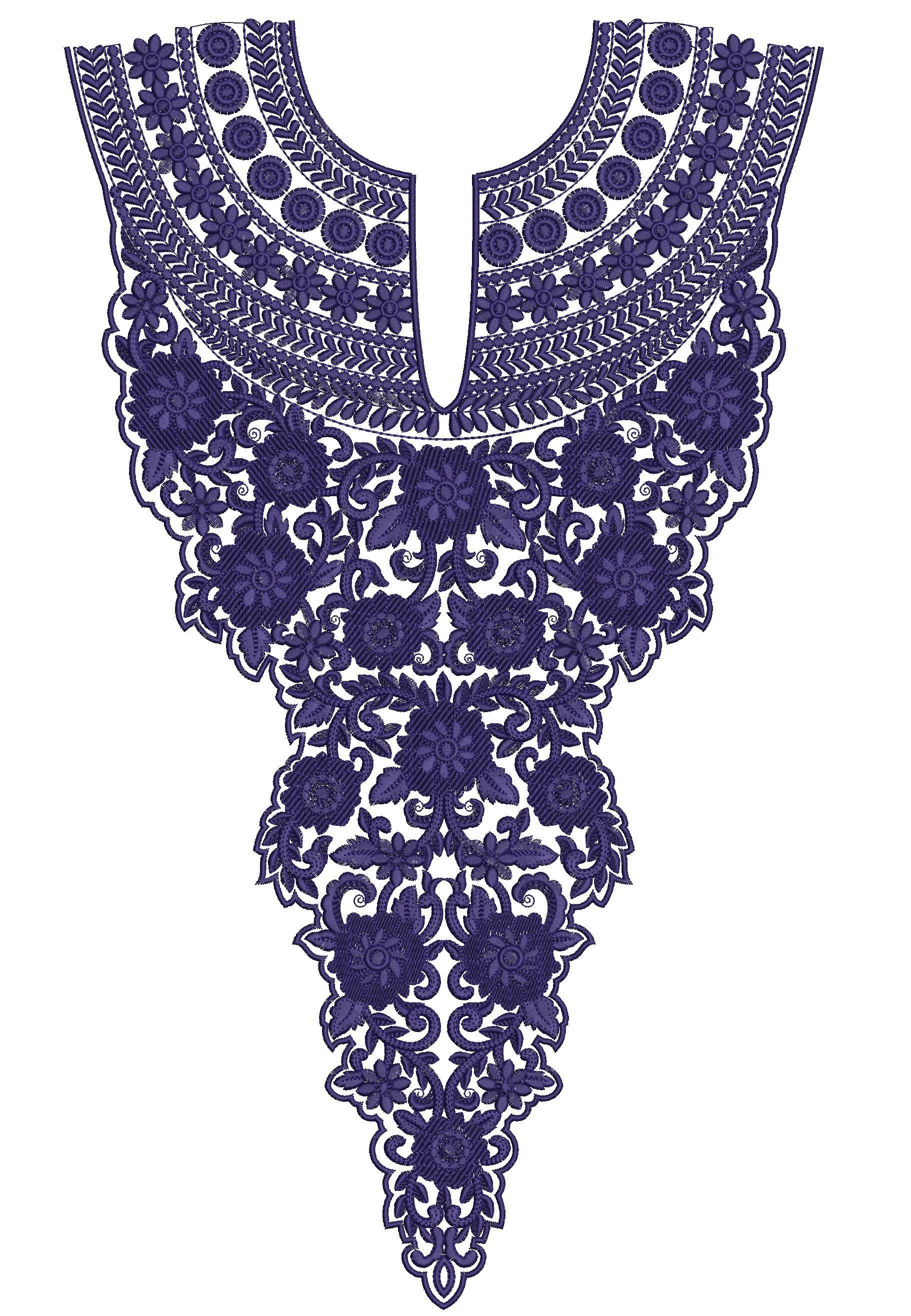 Neck embroidery designs imgkid the image kid
