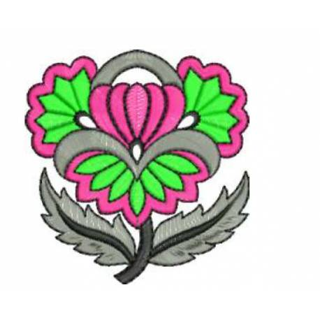 Abstract Free Flower Embroidery Designs 2017