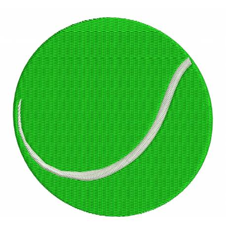 Tennis Circket Ball Embroidery Design