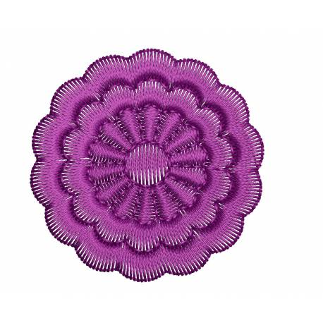 Floral Embrodiery Design 2x2