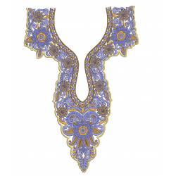 Indo Neckline Embroidery Design