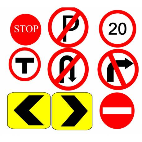 Traffic Signal Clipart Designs