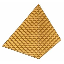 Pyramid Embroidery Design
