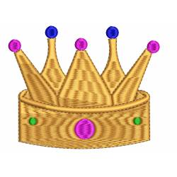 Kings Crown Machine Embroidery Design