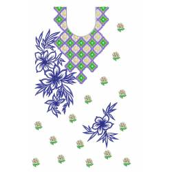 Books Embroidery Design 1