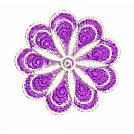 Cute Flower Embroidery Design