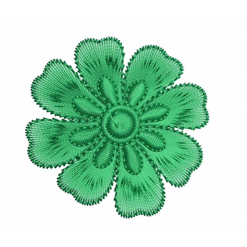 Small Mini 2x2 Flower Embroidery Design