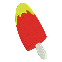 Summer Ice Candy Embroidery Design