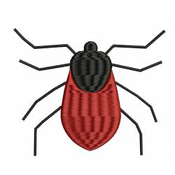Mite Insect Embroidery Design