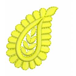 Paisley Embroidery Design