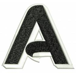Jumbo Filled Alphabet A
