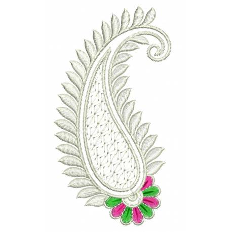 Beautiful Paisley Embroidery Design