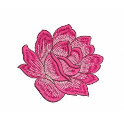 Rose Flower Embroidery Design Freebie
