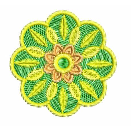 Floral Embroidery Design For Machine